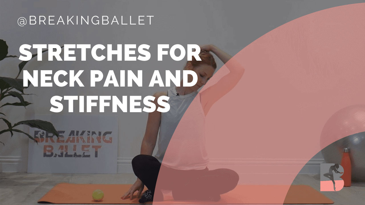 Stretches for neck pain and stiffness