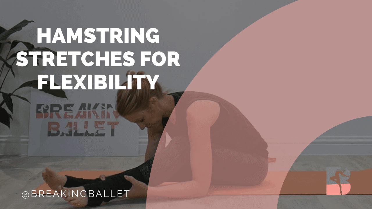Hamstring stretches for flexibility