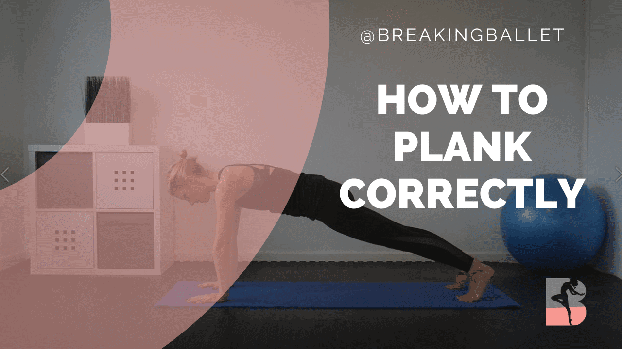 How to plank correctly